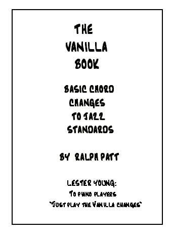 The Vanilla Book